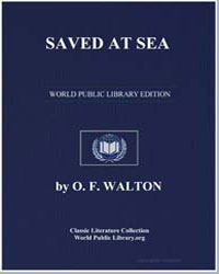 Saved at Sea by Walton, O. F., Mrs.