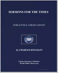 Sermons for the Times by Kingsley, Charles