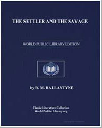 The Settler and the Savage by Ballantyne, Robert Michael