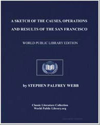 A Sketch of the Causes, Operations and R... by Webb, Stephen Palfrey