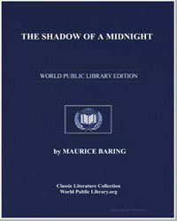 The Shadow of a Midnight by Baring, Maurice