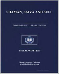 Shaman, Saiva and Sufi by Winstedt, R. O.