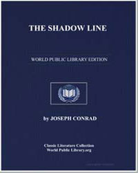 The Shadow Line by Conrad, Joseph