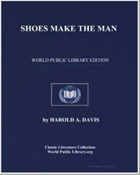 Shoes Make the Man by Davis, Harold A.