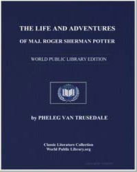 The Life and Adventures of Maj. Roger Sh... by Van Trusedale, Pheleg