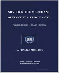 Shylock the Merchant of Venice by Alfred... by Morlock, Frank J.