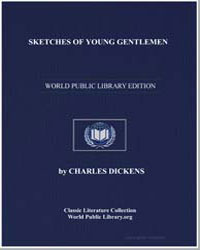 Sketches of Young Gentlemen by Dickens, Charles