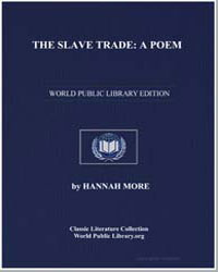 The Slave Trade : A Poem by More, Hannah