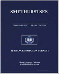 Smethurstses by Burnett, Frances Hodgson