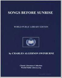 Songs before Sunrise by Swinburne, Algernon Charles