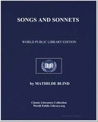 Songs and Sonnets by Blind, Mathilde