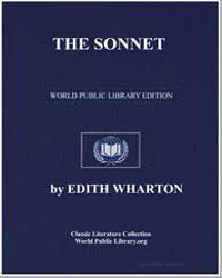 The Sonnet by Wharton, Edith