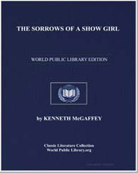 The Sorrows of a Show Girl by Mcgaffey, Kenneth