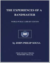 The Experiences of a Bandmaster by Sousa, John Philip