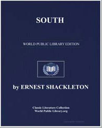 South by Shackleton, Sir Ernest