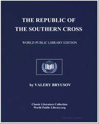 The Republic of the Southern Cross by Bryusov, Valery