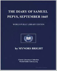 The Diary of Samuel Pepys, September 166... by Bright, Mynors