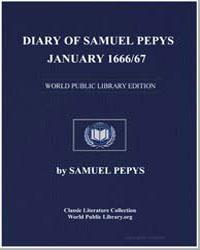 Diary of Samuel Pepys, January 1666/67 by Pepys, Samuel