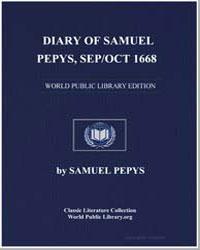 Diary of Samuel Pepys, Sep/Oct 1668 by Pepys, Samuel