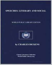 Speeches : Literary and Social by Dickens, Charles
