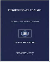 Through Space to Mars by Rockwood, Roy