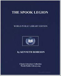 The Spook Legion by Robeson, Kenneth