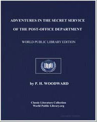 Adventures in the Secret Service of the ... by Woodward, Patrick Henry