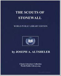 The Scouts of Stonewall by Altsheler, Joseph Alexander