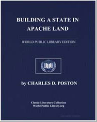 Building a State in Apache Land by Poston, Charles Debrille