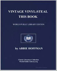 Vintage Vinyl : Steal This Book by Hoffman, Abbie