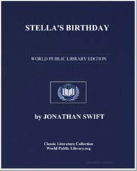 Stella's Birthday by Swift, Jonathan