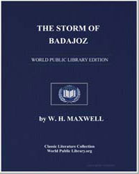 The Storm of Badajoz by Maxwell, W. H.
