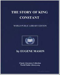 The Story of King Constant by Mason, Eugene