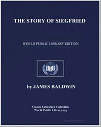 The Story of Siegfried by Baldwin, James