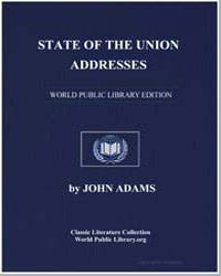 State of the Union Addresses by Adams, John