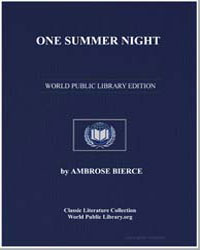 One Summer Night by Bierce, Ambrose