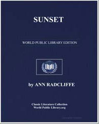 Sunset by Radcliffe, Ann