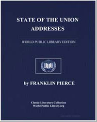 State of the Union Addresses by Pierce, Franklin