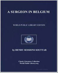 A Surgeon in Belgium by Souttar, Henry Sessions