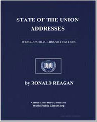 State of the Union Addresses by Reagan, Ronald