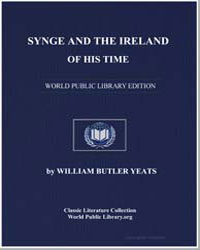 Synge and the Ireland of His Time by Yeats, William Butler