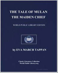The Tale of Mulan, The Maiden Chief by Tappan, Eva March