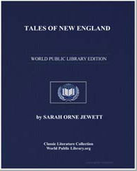 Tales of New England by Jewett, Sarah Orne