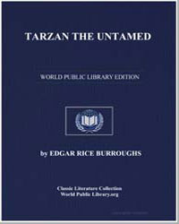 Tarzan the Untamed by Burroughs, Edgar Rice