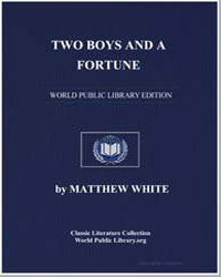 Two Boys and a Fortune by White, Matthew, Jr.