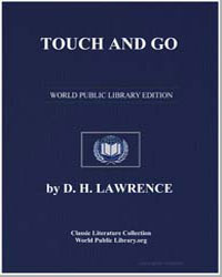 Touch and Go by Lawrence, David Herbert