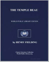 The Temple Beau by Fielding, Henry