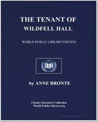The Tenant of Wildfell Hall by Brontë, Anne