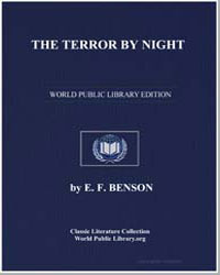 The Terror by Night by Benson, Edward Frederic