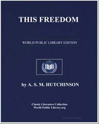 This Freedom by Hutchinson, Arthur Stuart-Menteth